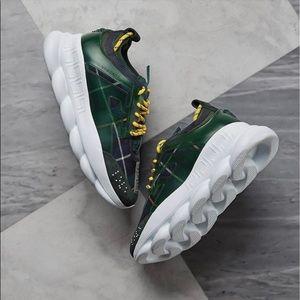 Versace chain reaction shoes.